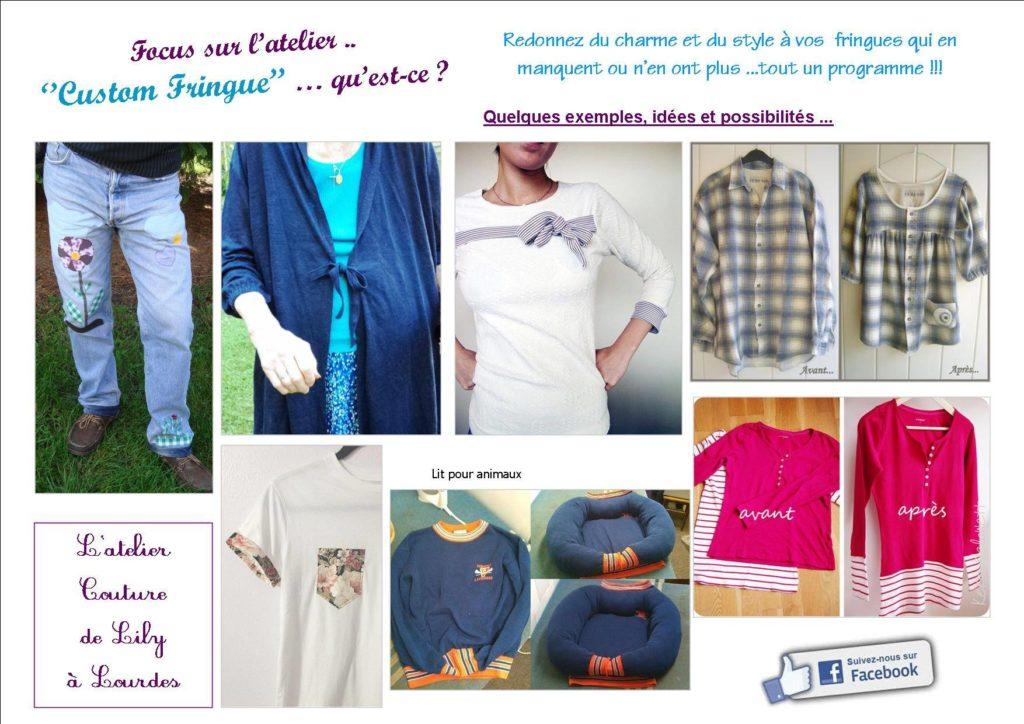 customisation vêtements, customisation pantalons et vestes