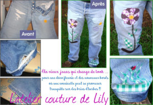 Customisation jeans