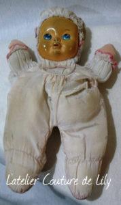 Réparation poupée malade